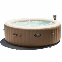 Spa Gonflable Rond INTEX AIR 1.96 0.71m 4 Places